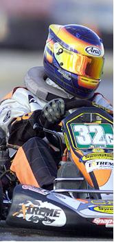 go kart racing pr client