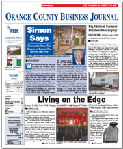 local publication newspaper Orange County