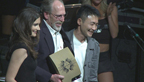 Phil Koenen accepting award